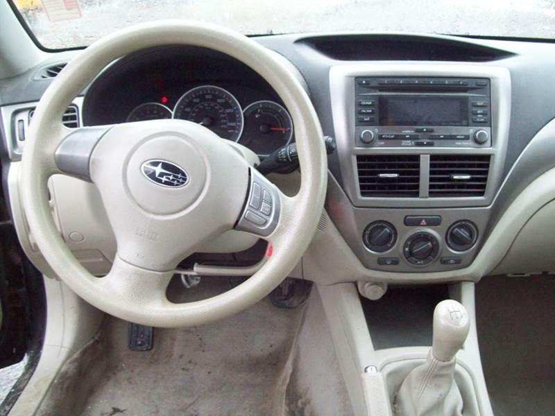 2008 Subaru Impreza AWD 2.5i 4dr Sedan 5M - Milford NH