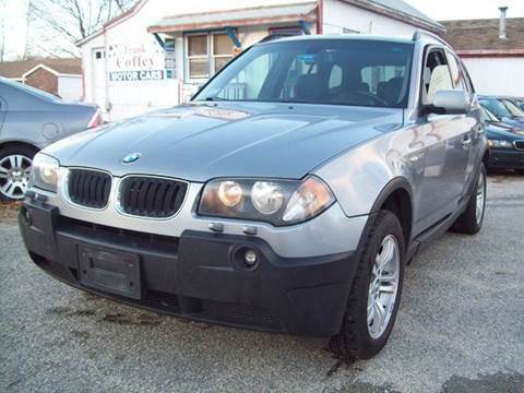 2005 BMW X3 for sale in Milford, NH