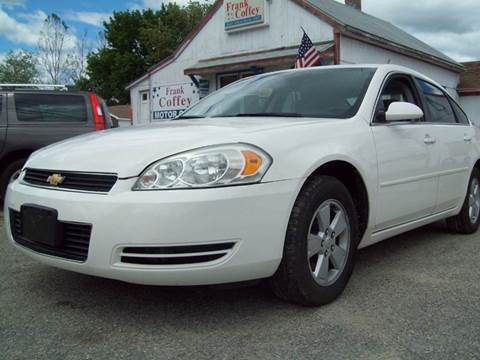 2006 Chevrolet Impala for sale in Milford, NH