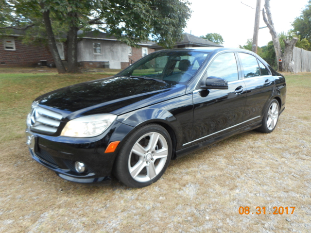 2010 MERCEDES-BENZ C-CLASS C 300 SPORT 4MATIC AWD 4DR SEDAN black sporty clean luxury rolled in