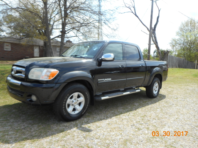2006 TOYOTA TUNDRA SR5 4DR DOUBLE CAB 4WD SB 47L black hard to find 4x4 trd off-road  le