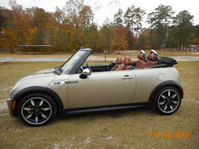 2008 MINI COOPER S 2DR CONVERTIBLE sparkling silver metallic sidewalk edition 2-stage unlocking d