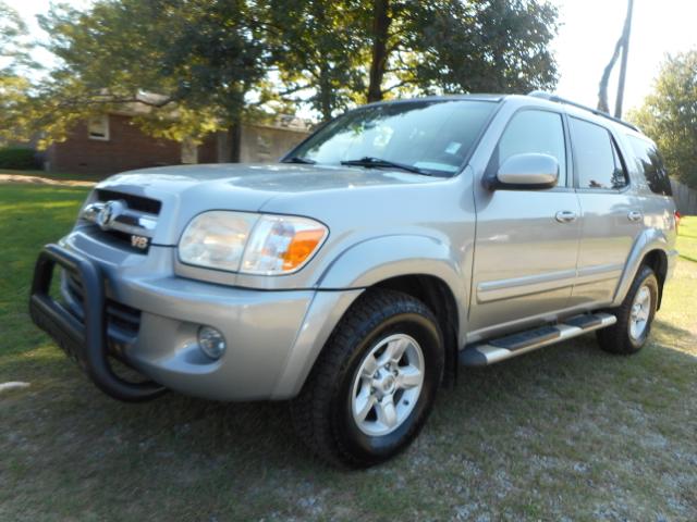 2005 TOYOTA SEQUOIA SR5 4WD 4DR SUV slate gray abs - 4-wheel anti-theft alarm system anti-theft