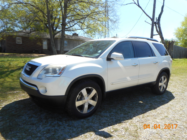 2009 GMC ACADIA SLT-2 4DR SUV pearl ltz package loaded local trade serviced at local gm dealer
