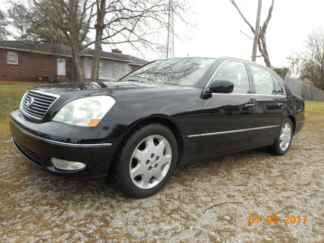 2003 LEXUS LS 430 LUXURY SEDAN black great local trade-in well maintained  looks great loaded