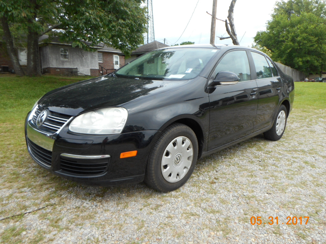 2007 VOLKSWAGEN JETTA BASE 4DR SEDAN 25L I5 5M black local trade great condition sporty 5-sp