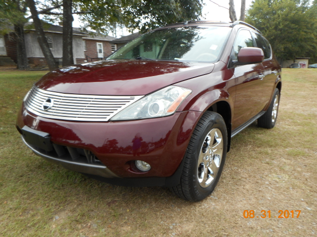 2005 NISSAN MURANO SL 4DR SUV burgandy great medium size suv loaded with sunroof navigation le