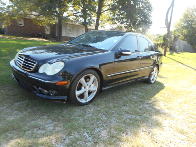 2006 MERCEDES-BENZ C-CLASS C 230 SPORT 4DR SEDAN black abs - 4-wheel active head restraints - du