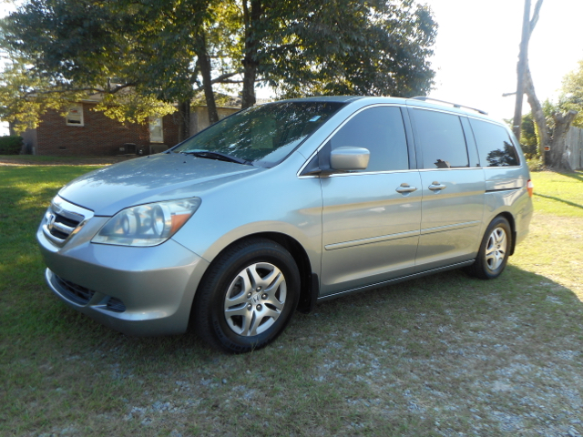 2007 HONDA ODYSSEY EX 4DR MINI VAN gray one owner locally owner service regularly hard to find