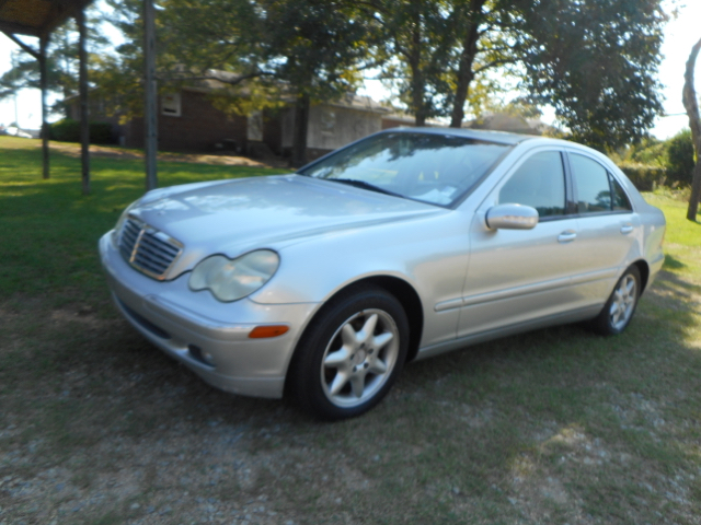 2001 MERCEDES-BENZ C-CLASS C 240 4DR SEDAN silver abs - 4-wheel anti-theft system - alarm casse