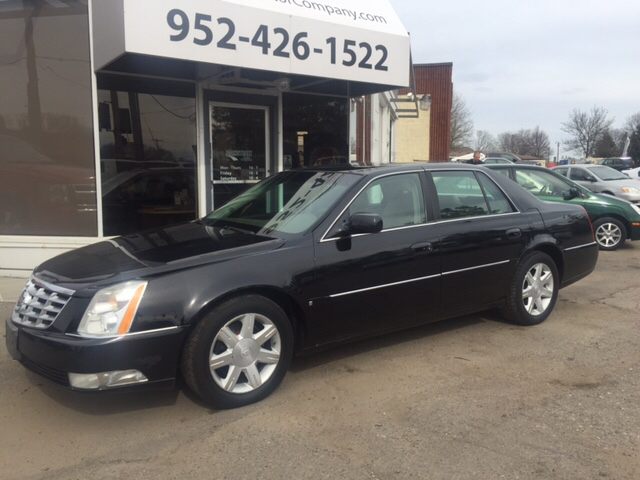 2006 cadillac dts luxury i 4dr sedan in hopkins eden prairie minneapolis mainstreet motor company. Black Bedroom Furniture Sets. Home Design Ideas