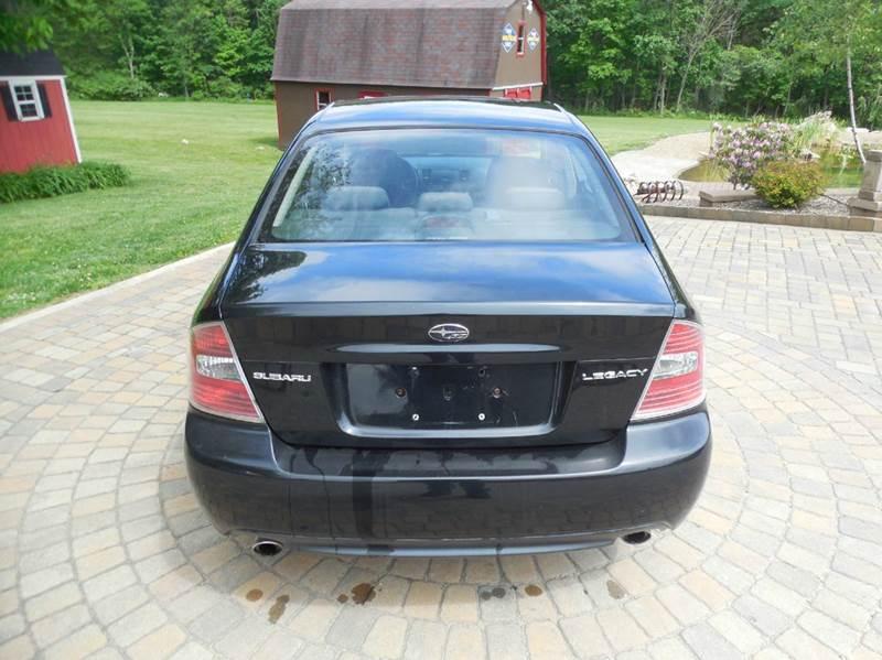 2007 Subaru Legacy AWD 2.5i 4dr Sedan (2.5L F4 5M) - Ruffs Dale PA