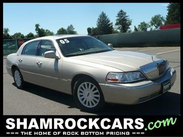 2005 Lincoln Town Car for sale in East Windsor, CT