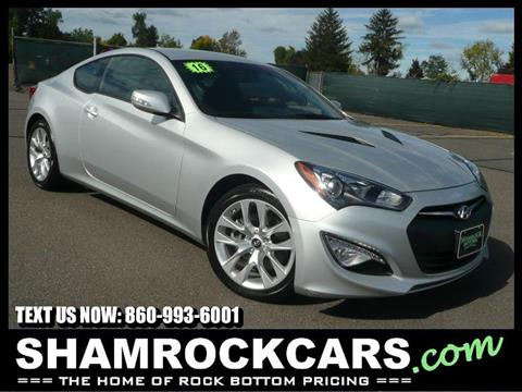 2016 Hyundai Genesis Coupe for sale in East Windsor, CT
