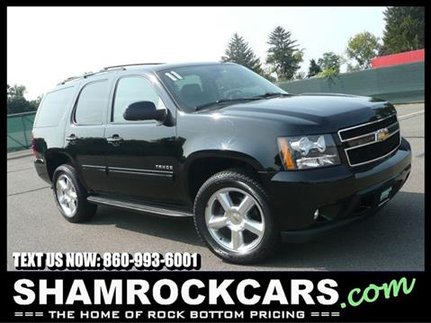 2011 Chevrolet Tahoe for sale in East Windsor, CT