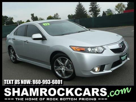 2012 Acura TSX for sale in East Windsor, CT