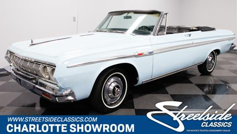 1964 Plymouth Sport Fury for sale in Concord, NC