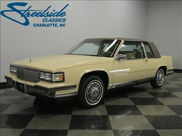 1987 Cadillac DeVille For Sale  Carsforsalecom