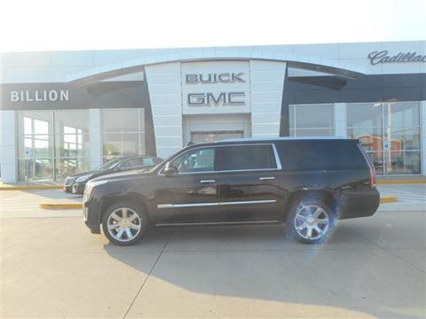 2017 Cadillac Escalade ESV for sale in Sioux City, IA