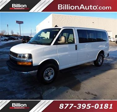 2018 Chevrolet Express Passenger for sale in Iowa City, IA