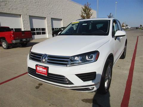 2015 Volkswagen Touareg for sale in Iowa City IA