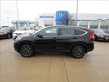 2016 Honda CR-V for sale in Iowa City, IA