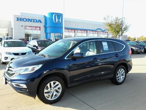 2015 Honda CR-V for sale in Iowa City IA