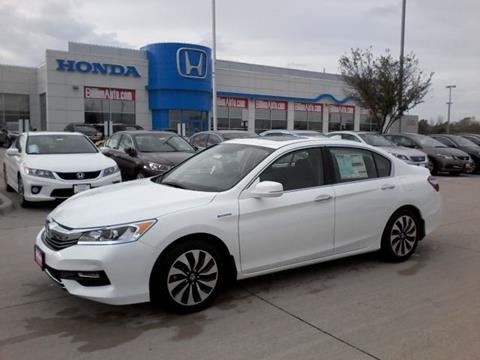 2017 Honda Accord Hybrid for sale in Iowa City, IA