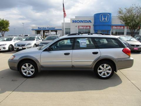 2007 Subaru Outback for sale in Iowa City IA