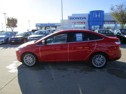 2012 Ford Focus for sale in Iowa City IA