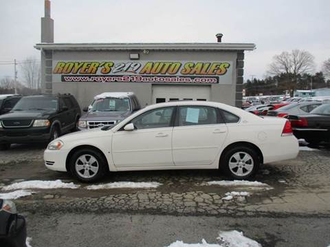 2006 Chevrolet Impala for sale in Dubois, PA