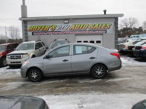 2012 Nissan Versa for sale in Dubois, PA