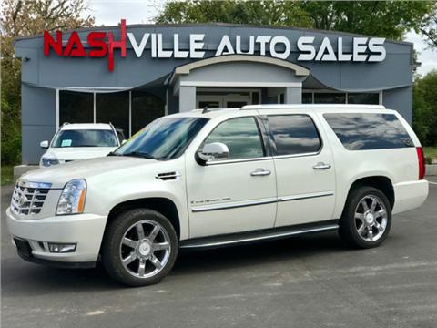 2009 Cadillac Escalade ESV for sale in Nashville, TN