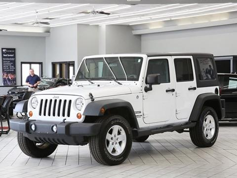 2012 Jeep Wrangler Unlimited for sale in Indianapolis, IN
