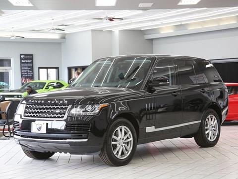 2015 Land Rover Range Rover for sale in Indianapolis, IN