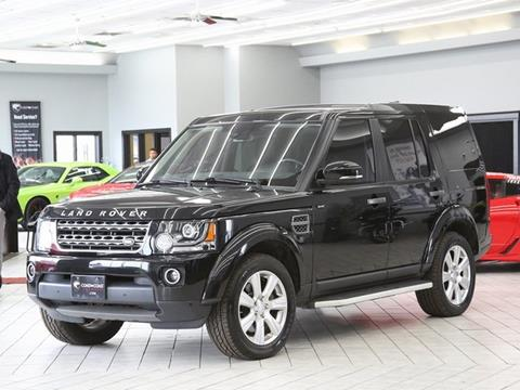 2015 Land Rover LR4 for sale in Indianapolis, IN