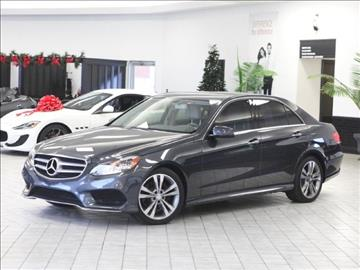 Mercedes benz e class for sale indiana for Coast to coast motors fishers