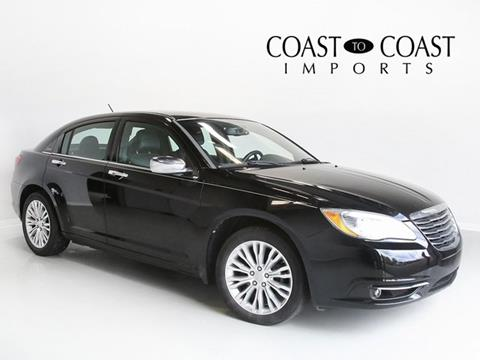2012 Chrysler 200 for sale in Indianapolis, IN
