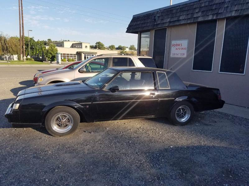 1987 Buick Regal Grand National Turbo 2dr Coupe - Richland WA
