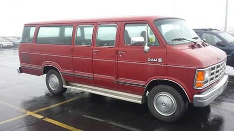 1e53baeb69 1989 Dodge Ram Wagon For Sale in Gunnison
