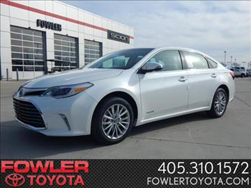 2017 Toyota Avalon Hybrid for sale in Norman, OK