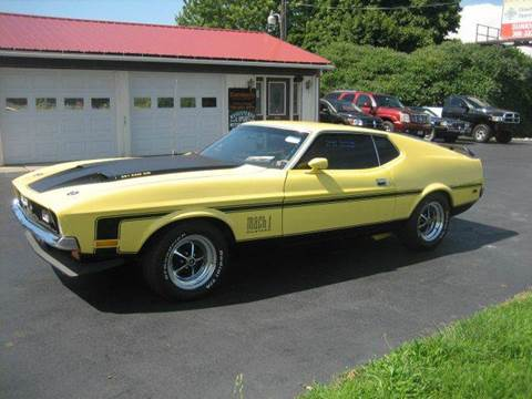 1972 Ford Mustang for sale in Fredonia NY