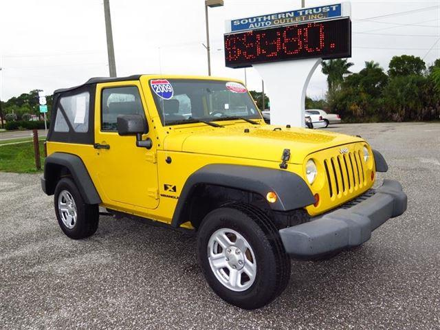 2009 Jeep Wrangler for sale in NORTH FORT MYERS FL