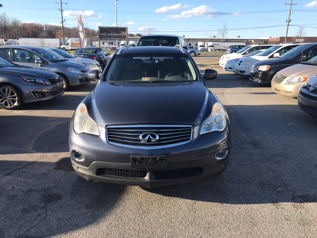 2008 infiniti ex35 journey awd 4dr crossover in richmond va s f auto sales. Black Bedroom Furniture Sets. Home Design Ideas