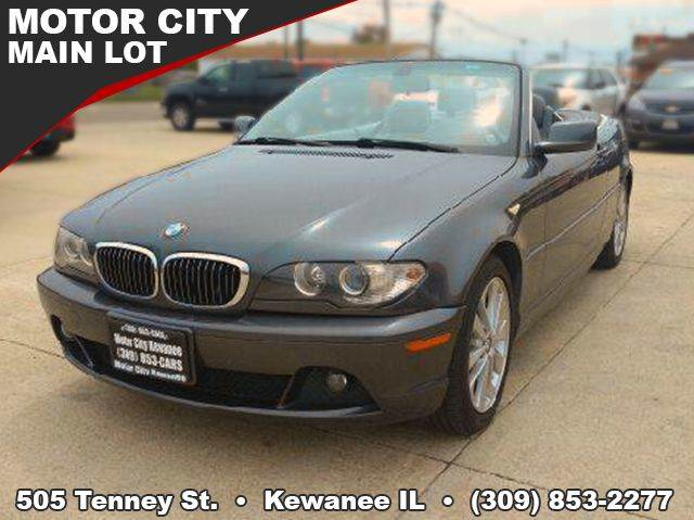 Bmw Series Ci Dr Convertible In Kewanee IL Motor City - Bmw 3 series hardtop convertible