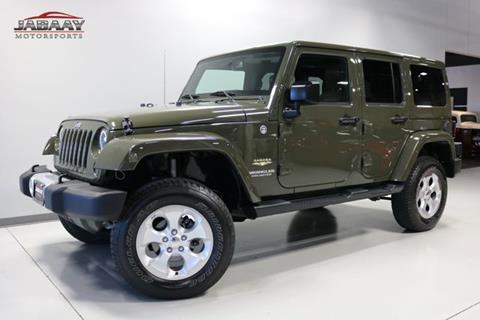 2015 Jeep Wrangler Unlimited for sale in Merrillville, IN