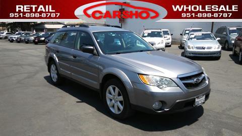2008 Subaru Outback for sale in Corona, CA