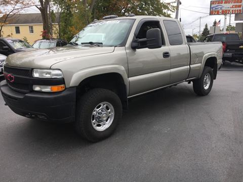 2002 Chevrolet Silverado 2500HD for sale in North Reading, MA