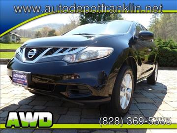 2011 Nissan Murano for sale in Franklin, NC