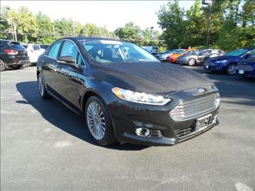 2015 Ford Fusion for sale in Burnt Hills, NY